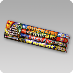 5 Ball Roman Candle Assorted 18/4
